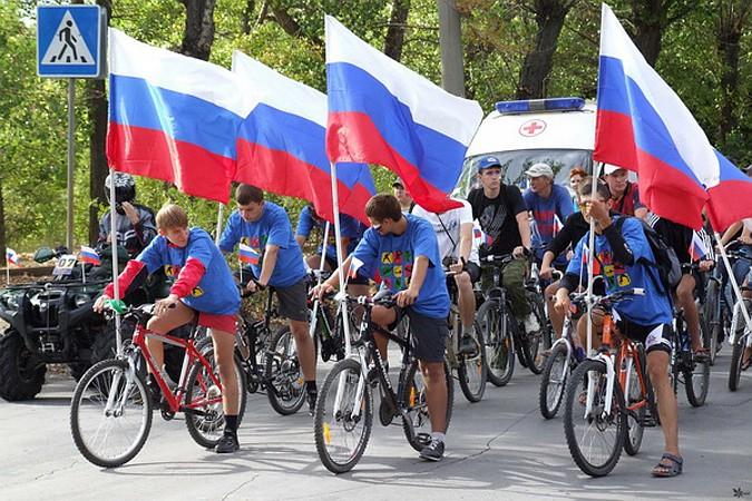 В Рубцовске пройдет велопробег, посвященный Дню флага России