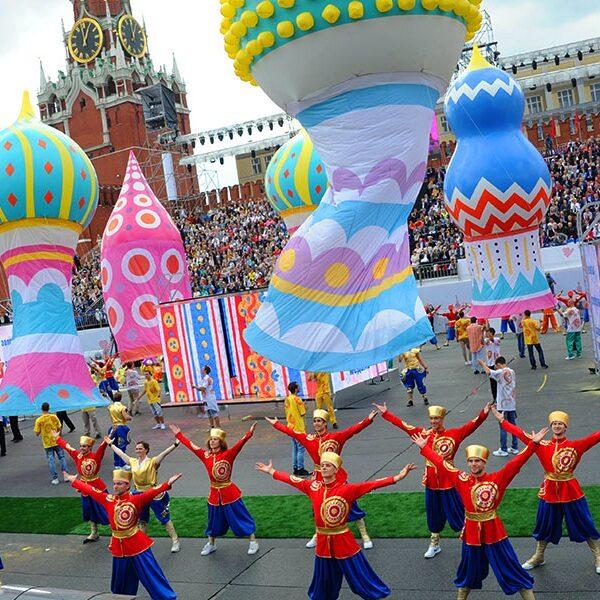 Концерт на Красной площади в День города