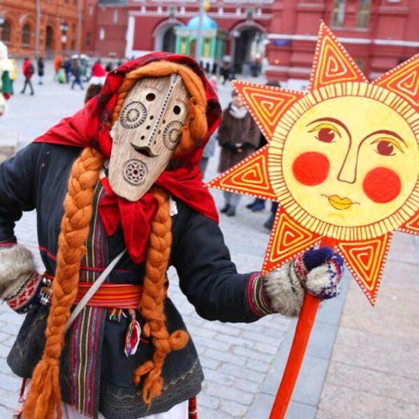 Масленица на Красной площади