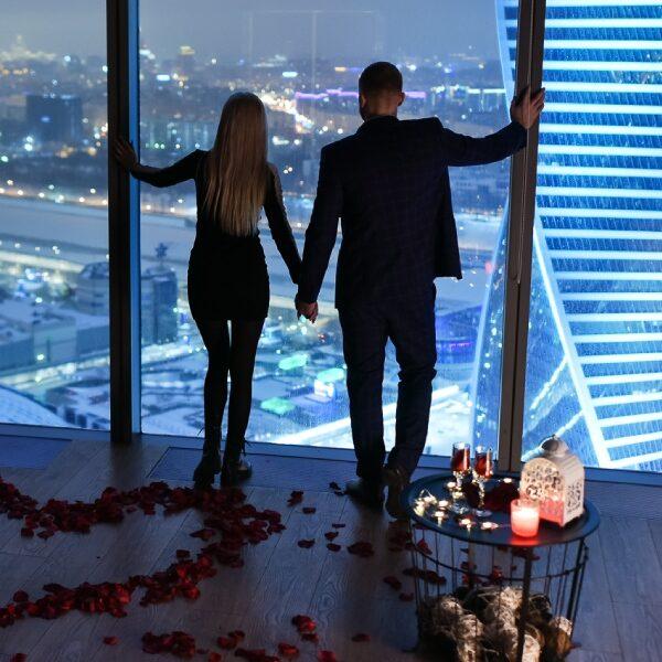 День влюбленных в антикинотеатре в «Москва-Сити»