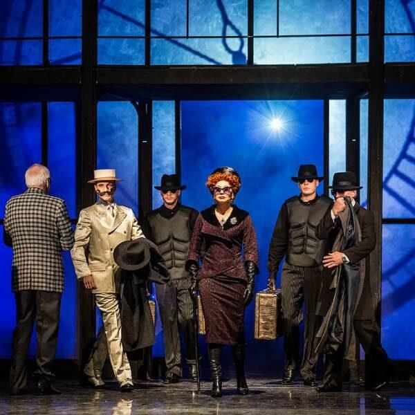Спектакль «Визит старой дамы» в Малом театре