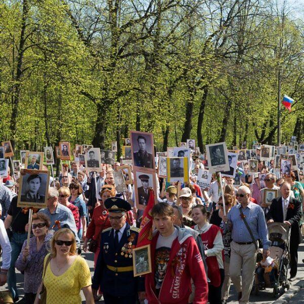 День Победы в Павловске