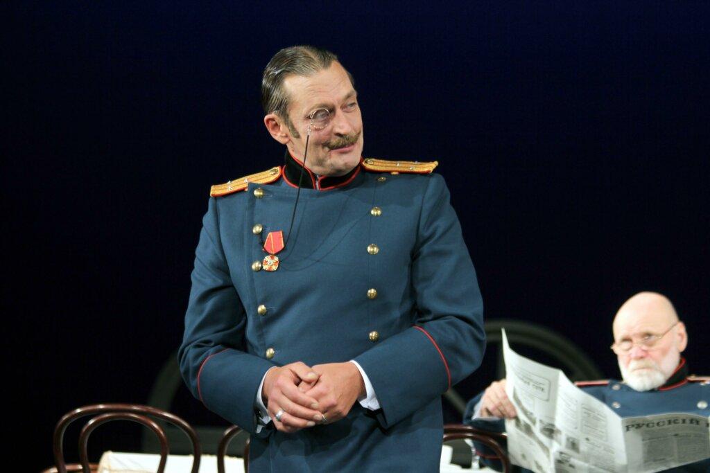 Александо Домогаров является актером Государственного академического театра им. Моссовета. Фото: Global Look