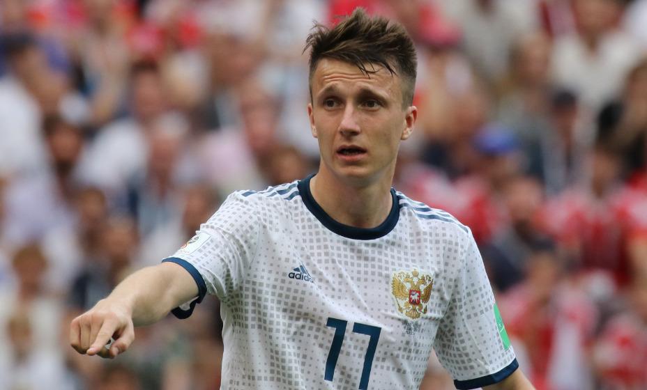 Полузащитник «Монако» и сборной России Александр Головин не прибудет в расположение команды перед отбором на ЧМ-2022. Фото: Global Press Look