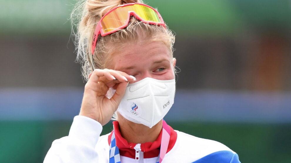 Анна Пракатень - гребля - Олимпиада