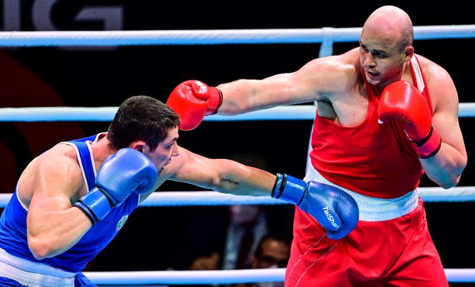 Боксер Иван Верясов завершил выступление в Токио-2020. Фото: Global Look Press