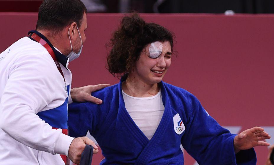 Дзюдоистка Мадина Таймазова боролась несмотря на судейские ошибки и завоевала бронзу Токио-2020. Фото: Reuters