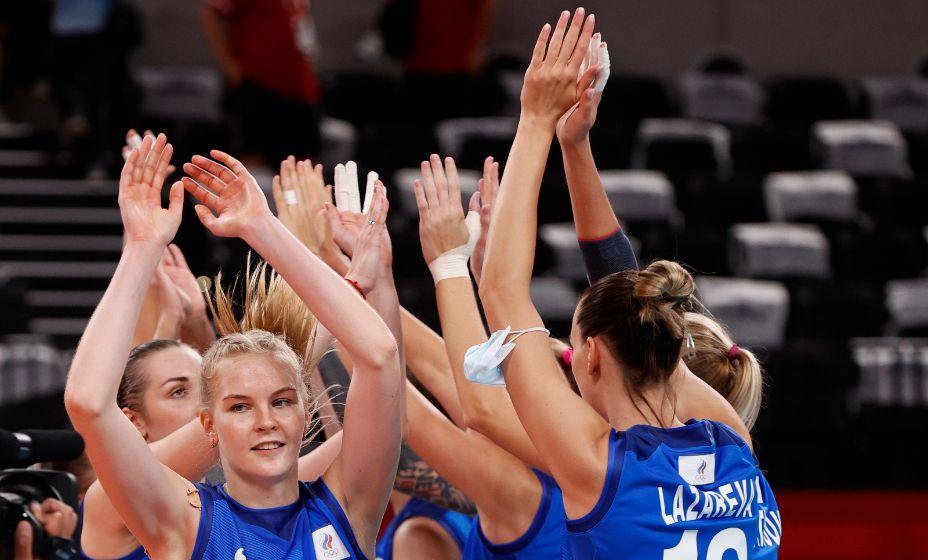 Российские волейболистки вышли в плей-офф с четвертого места. Фото: Reuters
