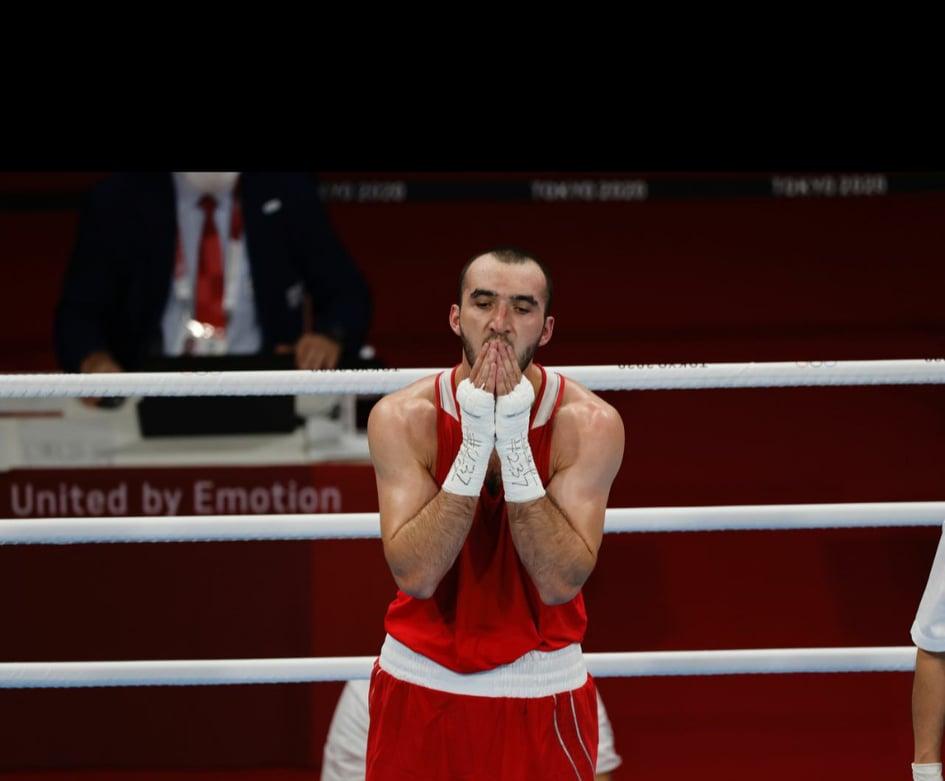 Боксер Муслим Гаджимагомедов добрался до финала в весовой категории до 91 кг. Фото: ОКР