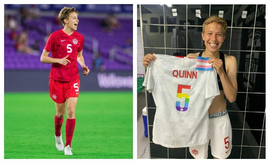 Ребекка Куинн стала первым трансгендером, завоевавшим олимпийскую медаль. Фото: Инстаграм Ребекки Куинн