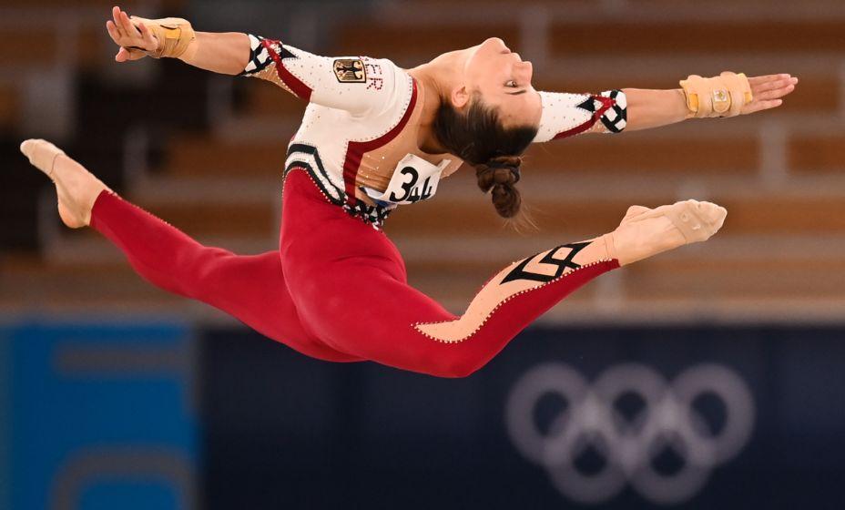 Гимнастка сборной Германии Паулина Шефер объяснила выбор костюма на Игры в Токио. Фото: Global Look Press