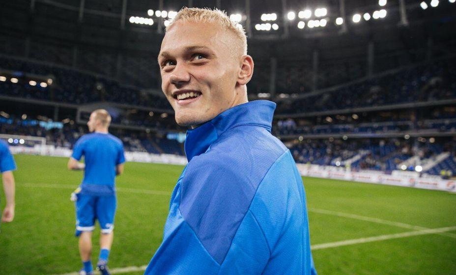 Форвард «бело-голубых» Константин Тюкавин надеется приобрести новый опыт в национальной команде. Фото: FC Dinamo