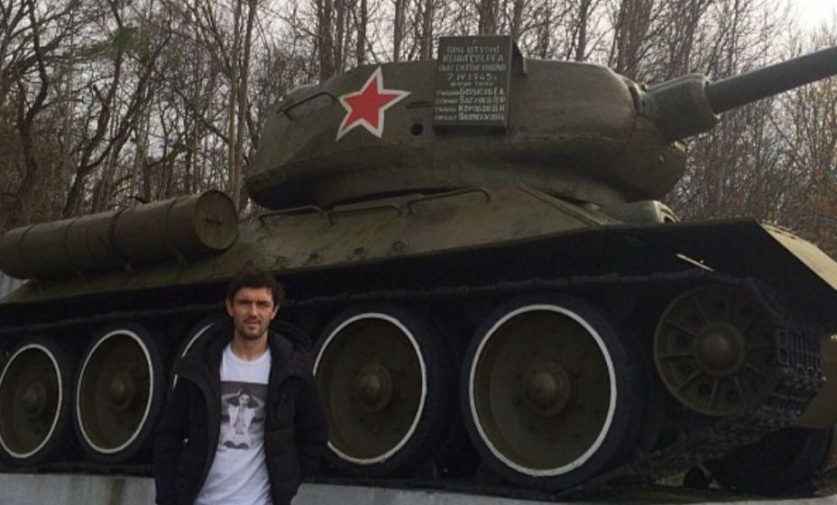 Юрий Жирков, когда переходил в «Челси», мечтал о танке. Фото: Инстаграм Юрия Жиркова