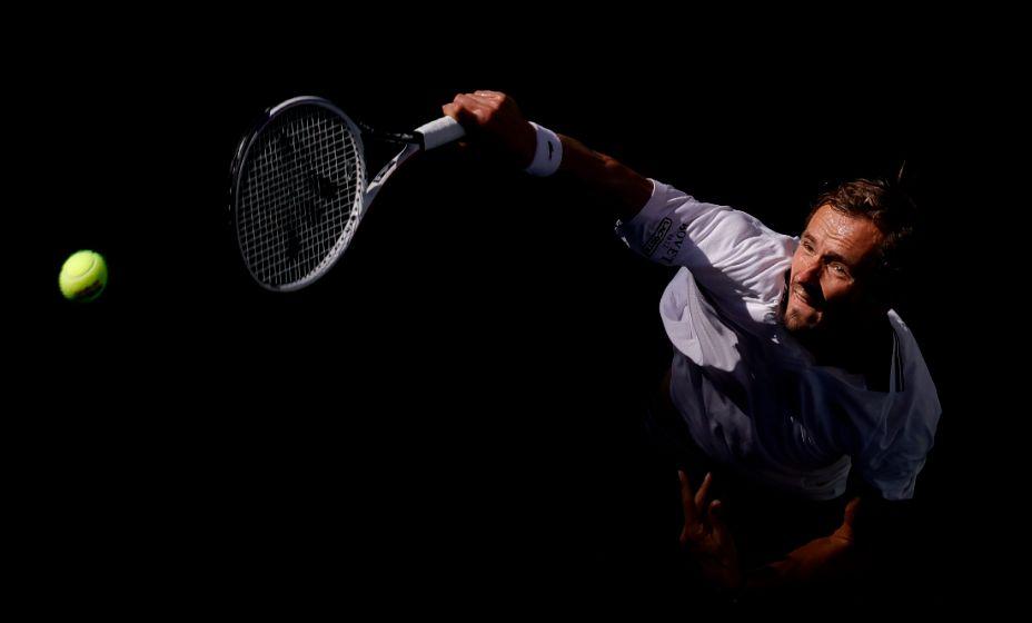 Дании Медведев хорошо выступает на Открытом чемпионате США по теннису. Фото: Reuters