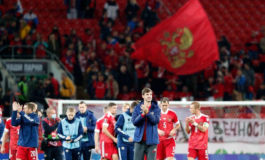 Сборная России набрала 7 очков в трех матчах под руководством Валерия Карпина. Фото: Reuters